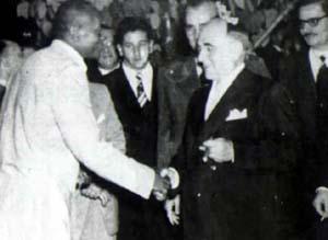 Mestre Bimba i prazydent Vargas